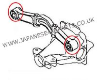 Mitsubishi Shogun 3.2DID (V88-SWB / V98-LWB) (09/2006+) - Differential Diff Support Mount Bush